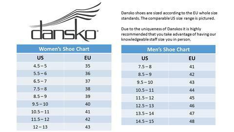 Water tower place uniforms inc dansko size chart